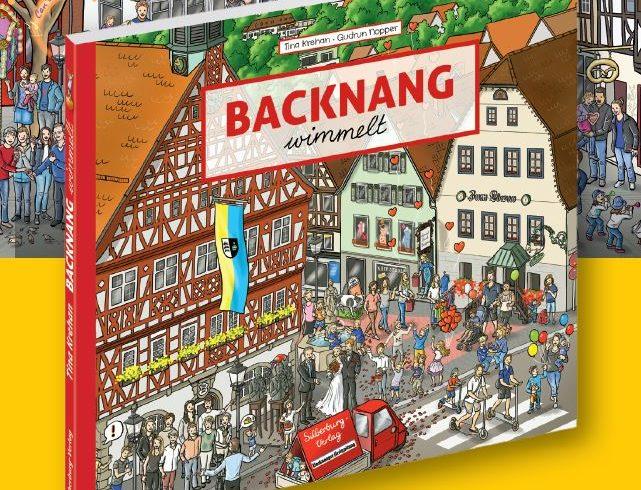 Ab sofort erhältlich: Das Backnanger Wimmelbuch