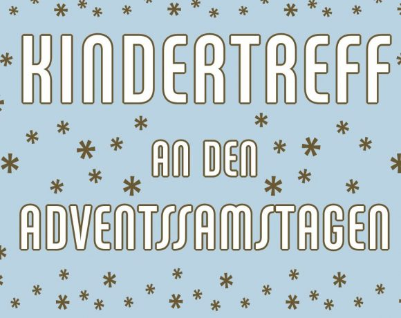 Kindertreff an den Adventssamstagen