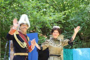 Einmal Prinzessin Herzog Wilhelm verabschiedet sich